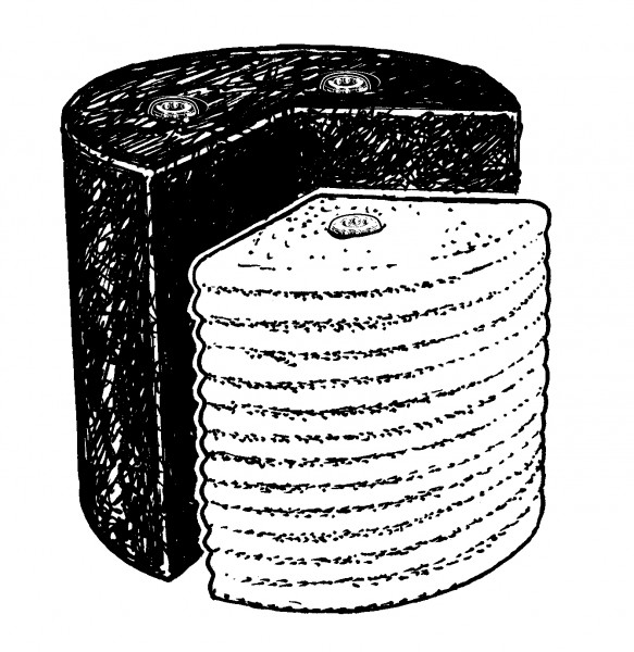 brunnen olbia black white neu von ubbink 1308287 ebay. Black Bedroom Furniture Sets. Home Design Ideas